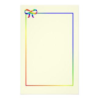 Artigos de papelaria do arco do arco-íris