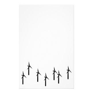 artigos de papelaria do windpower (preto)