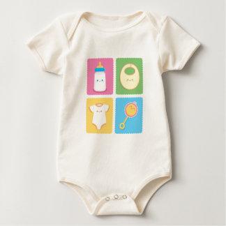 Artigos do bebê de Kawaii Macacãozinho Para Bebês