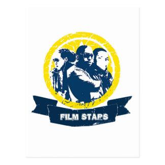 Artigos do Promo das estrelas de cinema Cartão Postal