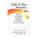 Artista do pintor de casa panfletos personalizados