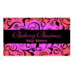 Artístico desvanecem-se os cartões cor-de-rosa da  cartoes de visita