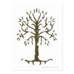 Árvore branca de Gondor Cartoes Postais