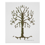 Árvore branca de Gondor Impressão