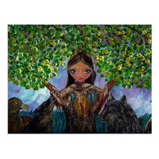 Árvore Cherokee Cartão Postal