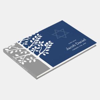 Árvore cinzenta do marinho do bar Mitzvah da vida Livro De Visitas