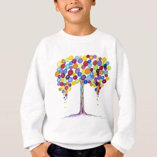 Árvore colorida do balão do divertimento camiseta