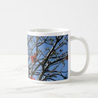 árvore coral caneca