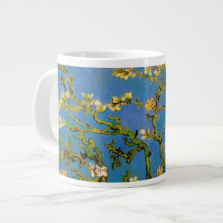 Árvore de amêndoa de florescência por Van Gogh, Jumbo Mug