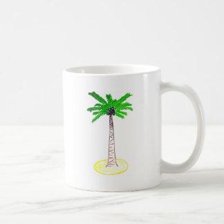 Árvore de coco caneca