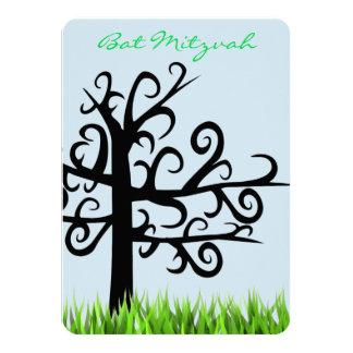 Árvore de convites de Mitzvah do bastão do bar da