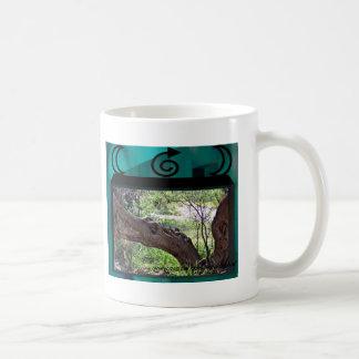 Árvore de dragão caneca