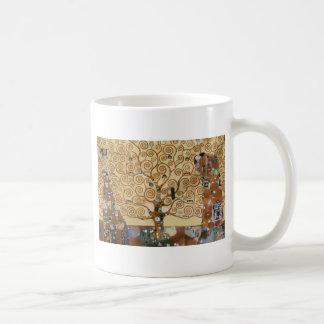 Árvore de Gustavo Klimt de vida Canecas
