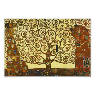 Árvore de Gustavo Klimt do poster da vida Pôster