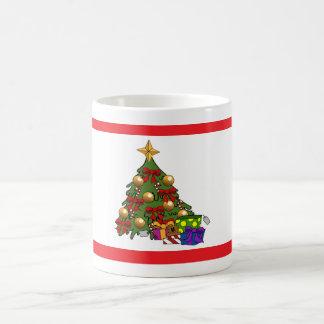 árvore de Natal Canecas