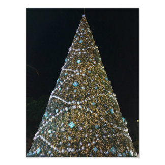 Árvore de Natal em Tiffany Pôster