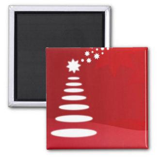 Árvore de Natal Ímã Quadrado