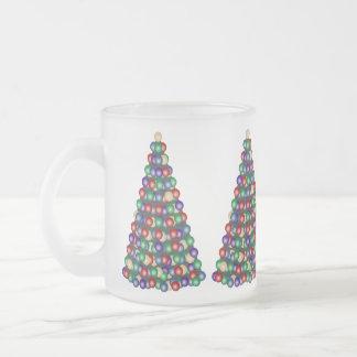 Árvore de Natal, oh árvore de Natal Caneca De Vidro Fosco
