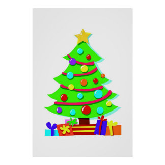 Árvore de Natal Pôster