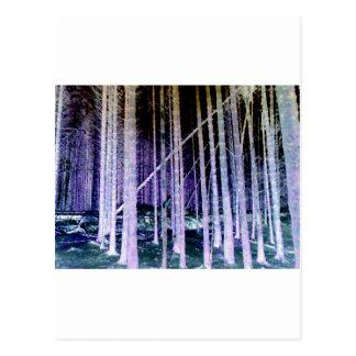 Árvore de queda cartão postal