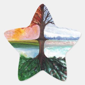 Árvore de vida adesito estrela