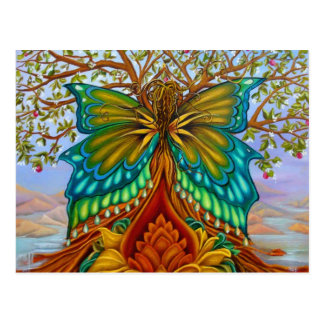 Árvore de vida cartão postal