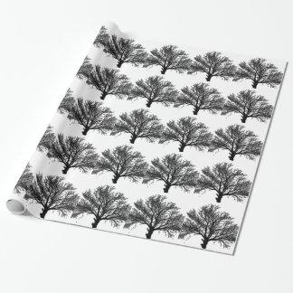 Árvore de vida papel de presente
