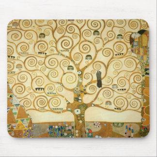 Árvore de vida por Gustavo Klimt Mouse Pad