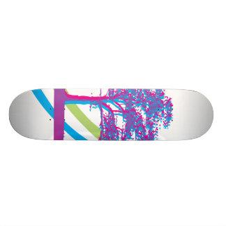 Árvore do arco-íris shape de skate 18,4cm
