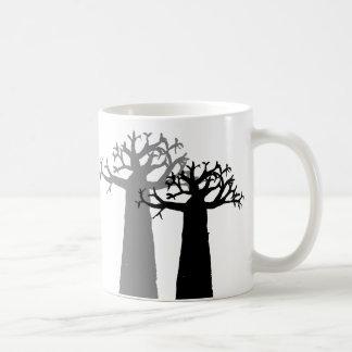 Árvore do Baobab Caneca De Café