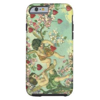 Árvore do coração dos Cupido do Victorian do dia Capa Para iPhone 6 Tough