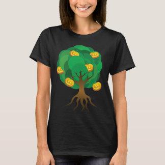 árvore do Dia das Bruxas T-shirts