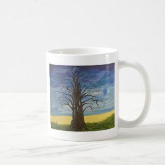 Árvore do homem caneca de café