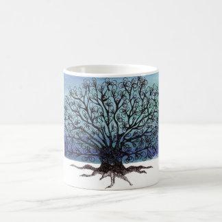 árvore do inverno canecas
