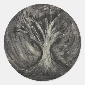 Árvore escura adesivo