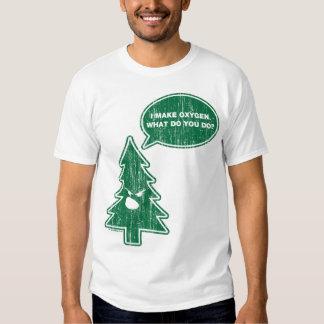 Árvore irritada (vintage) camiseta
