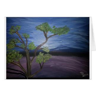 árvore landscape.jpg cartão comemorativo