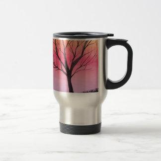 Árvore lunática art. caneca térmica