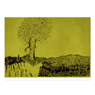 Árvore só cartão postal
