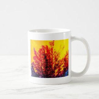 Árvore vermelha caneca