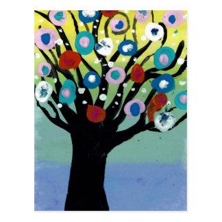 Árvore Virginia Beach de Rena, VA Cartão Postal