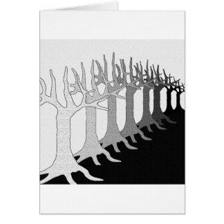 Árvores Cartão
