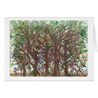 Árvores Cartao