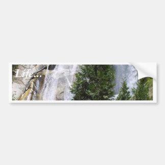 Árvores das cachoeiras adesivo para carro