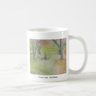 Árvores de cereja - o leitor caneca
