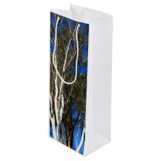 Árvores de goma sacola para vinho