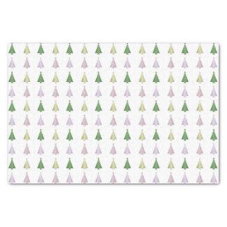 Árvores de Natal do divertimento Papel De Seda