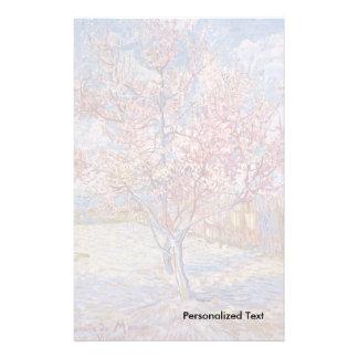 Árvores de pêssego de florescência de Van Gogh | | Papelaria