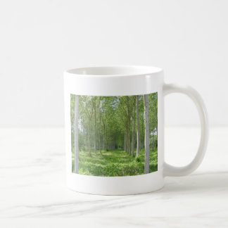 Árvores francesas caneca de café