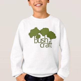 Árvores verdes, artesanato do arbusto tshirts